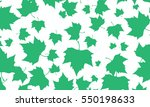 green leafs falling abstract... | Shutterstock .eps vector #550198633