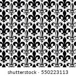 vector illustration seamless... | Shutterstock .eps vector #550223113