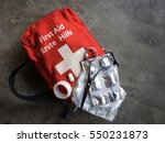 First Aid Kit With Medicine