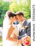 bride and groom | Shutterstock . vector #550266673