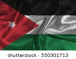 jordan national flag... | Shutterstock . vector #550301713