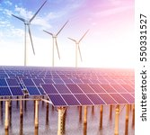 solar power | Shutterstock . vector #550331527