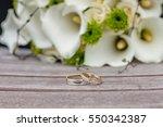 wedding rings | Shutterstock . vector #550342387