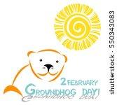 Sunny Groundhog Day. 2 Februar...