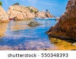 cala aigua xelida in costa... | Shutterstock . vector #550348393