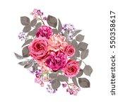 elegant floral bouquet  design...