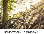 bike in amsterdam | Shutterstock . vector #550365673