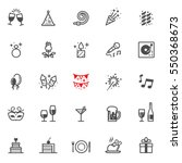 Celebration And Party Icons...