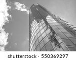 modern building. modern office... | Shutterstock . vector #550369297