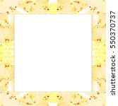 rectangular frame of... | Shutterstock . vector #550370737