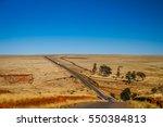 Road Through Empty Grassland I...