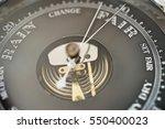 Close Up Of Boat Barometer