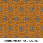 modern geometric seamless... | Shutterstock . vector #550422607