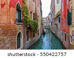 Typical Venice Canal With...