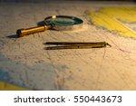 navigational map   Shutterstock . vector #550443673