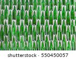 Glass Bottles Background And...