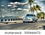 cienfuegos  cuba  jan 1  2017 ... | Shutterstock . vector #550466473