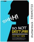Do Not Disturb Quiet Shhh  ...