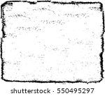 grunge black and white urban... | Shutterstock .eps vector #550495297