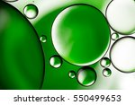 Water Bubbles Background  Gree...