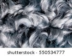 Texture Of Fur Background  Gra...