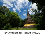 Ancient Pagoda In Buddhist...
