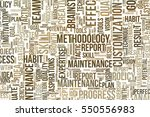 business conceptual word cloud... | Shutterstock . vector #550556983