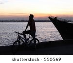 boat at quanzhou river  china | Shutterstock . vector #550569
