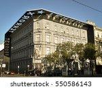 terror house museum  budapest ...   Shutterstock . vector #550586143