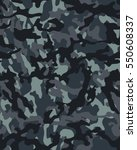 fashionable camouflage pattern  ... | Shutterstock .eps vector #550608337