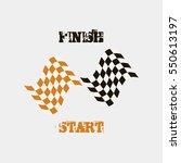 Start  Finish  Flags
