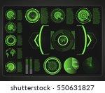 futuristic user interface.hud... | Shutterstock .eps vector #550631827