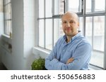 attractive confident middle... | Shutterstock . vector #550656883