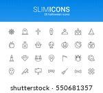 minimalistic slim line... | Shutterstock .eps vector #550681357