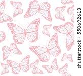 vector illustration of seamless ... | Shutterstock .eps vector #550692613