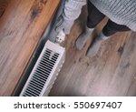 close up of woman hands wearing ... | Shutterstock . vector #550697407