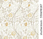 Modern Seamless Floral Pattern...