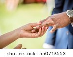 man and woman exchanging... | Shutterstock . vector #550716553