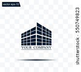 buildings icon for company | Shutterstock .eps vector #550749823