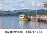 a view of ullswater from the...