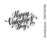 happy valentines day... | Shutterstock .eps vector #550765783