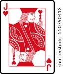 jack of hearts | Shutterstock .eps vector #550790413
