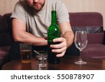 anonymous alcoholic person hard ... | Shutterstock . vector #550878907