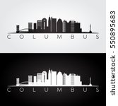 columbus usa skyline and