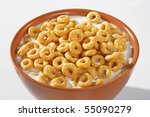 Bowl Full Of Honey Corn Flakes...