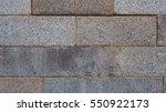 grey brick block wall texture... | Shutterstock . vector #550922173