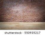 brick wall loft style...   Shutterstock . vector #550935217