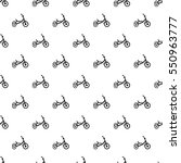 tricycle pattern. simple... | Shutterstock .eps vector #550963777