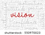 conceptual vector of tag cloud... | Shutterstock .eps vector #550970023