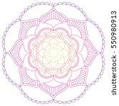 oriental pattern. traditional... | Shutterstock .eps vector #550980913